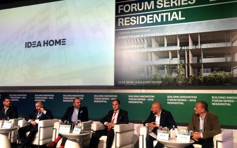 Представяне на IDEA HOME на Building Innovation Forum Series 2018: Residential